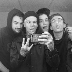 Ross Macdonald, Jesse Rutherford, George Daniel, Matty Healy