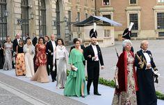 Invitados a la boda real de Magdalena de Suecia