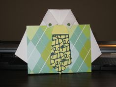cute Father's Day card.  Pin this for later...