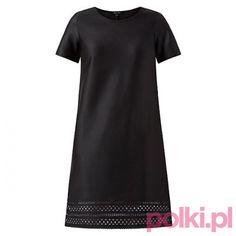 Czarna sukienka, New Look #polkipl