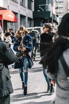 street style new york fashion week febrero 2017 dia 3