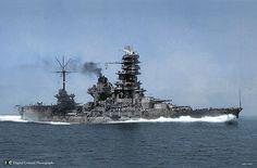 Ise as battleship-carrier hybrid 1943