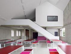 DLW Linoleum Referenzen - Ausbildungszentrum Prolin Rehau - Armstrong