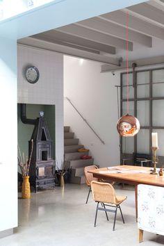 mahalolena | A former garage turned into a spacious home | http://mahalolena.com