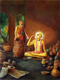 """When does """"food"""" become """"prasadam?"""" Sivarama Swami: The phenomenon of something changing from material to spiritual is an extraordinary one, but it is something we as devot…"""