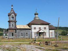 Церковь с.Верхняя Золотица. Фотоснимок проекта Общее Дело, 2016