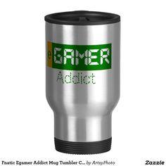 Fnatic Egamer Addict Mug Tumbler Cup