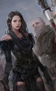 Yennefer by sungryun park : witcher Fantasy Women, Fantasy Girl, Dark Fantasy, Dnd Characters, Fantasy Characters, Female Characters, Character Portraits, Character Art, Character Design