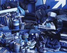 Helga Steppan: blue objects