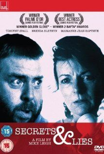 Secrets & Lies, 1996 British film directed by Mike Leigh. My introduction to the wonderful Brenda Blethyn.