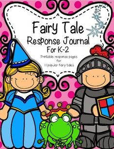 Fairy tales are so much fun! Help teach your students the characteristics of fairy tales with this unit. This package contains everything you need for printable response journals for your students. Included are a fairy tales characteristics page, a journal cover, and 2 response choices for the following fairy tales: Cinderella, Snow White, Puss in Boots, Rumplestiltskin, The Princess and the Pea, Hansel and Gretel, Jack and the Beanstalk, Rapunzel, Sleeping Beauty, and Pinnochio…