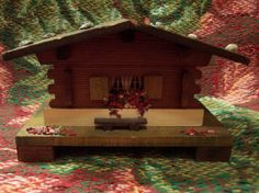 Nice Wooden Musical Swiss Chalet by doyourememberwhen on Etsy, $12.50