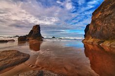 Arcadia Beach, Oregon Coast