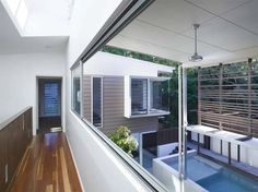 Bark Design Architects has designed the Pool House at Sunshine Beach