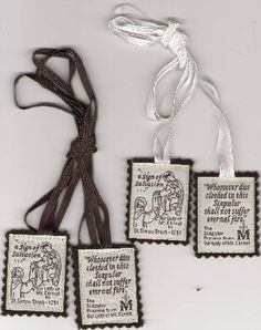 """OLRL: """"Best"""" Brown Scapular [Out of Stock]"""