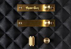 Furniture Handles - Buster + Punch  Busterandpunch.com  Brass handles