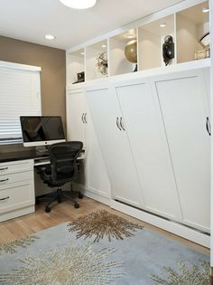 office wall bed. Side Tilt Wall Bed \u0026 Custom Cabinetry In Home Office - Traditional San Francisco Valet Cabinets Closets This Is A Room M
