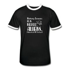 While aliens are cool and all, we don't think they built the pyramids. If you agree.. rock some merch