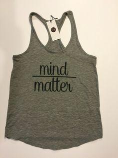 E & J Barre Boutique - Mind Over Matter Tank - Raceback