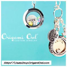 Origami Owl Locket with Plates,Dangles and Charms  Check out my shop  Http://LisasShop.OrigamiOwl.com