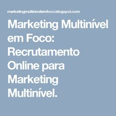 17 best dicas de panfleto images on pinterest flyers mario and marketing multinvel em foco recrutamento online para marketing multinvel fandeluxe Images