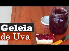 Geleia de Uva - A melhor que já fiz até hoje | Aqui na Cozinha