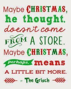 Maybe Christmas,,,,,,,