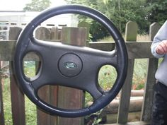 A donated steering wheel, which has become a taxi, a car, a train and a bus. The children have been to Harry Potter World to see Voldemort, to Buckingham Paris (!) which is in London, and to the lipstick shop...