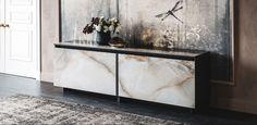 Cattelan – купить мебель итальянской фабрики Cattelan из Италии по низким ценам в PALISSANDRE.ru Side Board, Calacatta, Sliding Doors, Painting Frames, Clear Glass, Entryway Tables, Oversized Mirror, Furniture Design, Woodworking