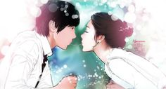Queen In Hyun's Man - loved this scene! I think this is the sweetest drama i've ever watched Queen In Hyuns Man, Korean Drama Movies, Korean Dramas, Korean Illustration, Cartoon N, Korean Anime, Fanart, Hyun Woo, Drama Korea