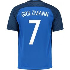 I'd like to get this shirt at one point. France Soccer Jersey, France Jersey, Football Shirts, Football Players, Soccer Jerseys, Football Stuff, Antoine Griezmann, Psg, Outfits