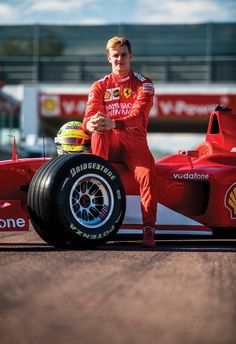 Mick Schumacher tried his father's title-winning Ferrari at Fiorano, before it will be auctioned during the Abu Dhabi GP weekend - EVMore - Electric Vehichle Mick Schumacher, Michael Schumacher, F1 Drivers, Champions, Formula One, Abu Dhabi, Race Cars, Ferrari, Father