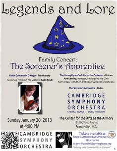 Cambridge Symphony Orchestra - Sunday, January 20, 2013