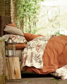 Perfect shade for fall! This Organic Bedding, Sierra Organic Comforter Cover will go great over our all Natural Topper!