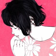 Flower Bed by Ilya Kuvshinov *