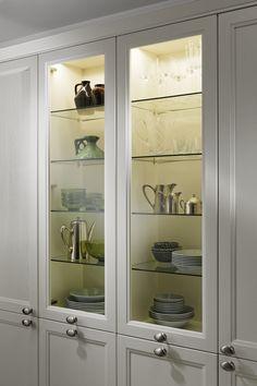 Weiße Küchen: 7 Ideen und Bilder für Küchen in Weiß | weiße Küchen ... | {Leicht küchen glasfront 26}