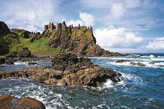 Hrad Dunluce: Jedna z perál pobrežia v Severnom Írsku.