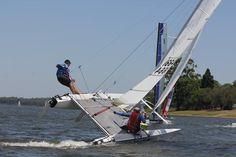 Nacra 5.8  (c)BCWN  - LOVE <3 Sail Racing, Sailing Catamaran, Out To Sea, Good Ole, Sailboats, Great Lakes, Yachts, Boating, Sailor
