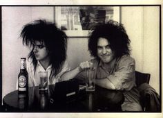 Simon Gallup and Robert Smith (1985)