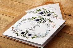 Trendy w zaproszeniach ślubnych od amelia-wedding. Amelia Wedding, Wedding Pl, Save The Date