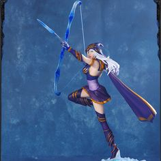 LOL League of legends Action Figure - Ashe