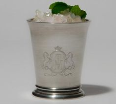 $59 Mint Julep Cup, not the cheap kind, heavy walled :) Let the races begin!
