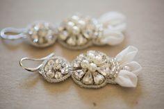 Heirloom Bridal Earrings - Style E05