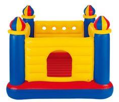 "Amazon.com: Intex Jump O Lene Castle Inflatable Bouncer, 69"" X 69"" X 53"", for Ages 3-6: Toys & Games"