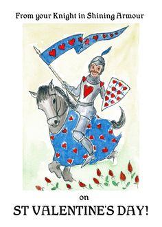 Рыцарь открытки, индейцами смешные