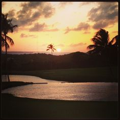 Remember to enjoy the small moments in your day.    Sunset at El Conquistador Resort in Puerto Rico