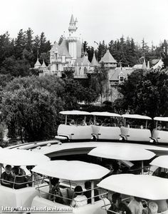 disneyland......hard to believe this is how it used to be......so different in its early days.