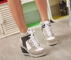 sneaker heels wedge - Google Search