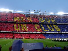 FC Barcelona--Really want to watch in person--gonna go