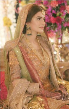 Cute Pakistani bride love the look